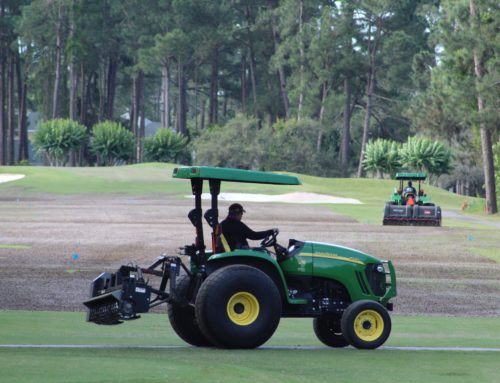 An aggressive yet necessary plan for aerification of greens