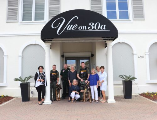 Members of Santa Rosa Golf & Beach Club Donate $40,000 for New K-9s at Walton County Sheriff's Office